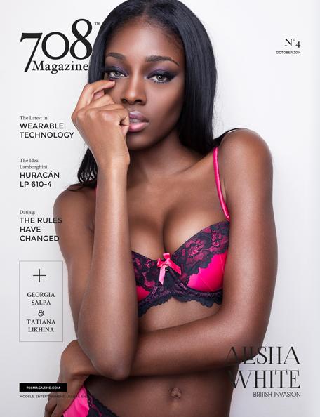 708 Magazine - Alisha White