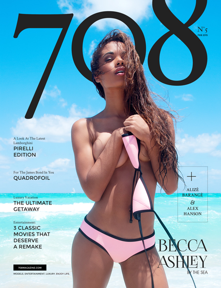 708 Magazine - Becca Ashley