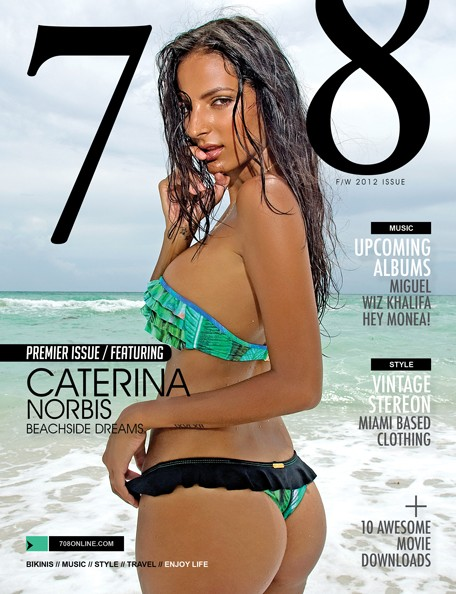 Caterina Norbis 708 Magazine Cover
