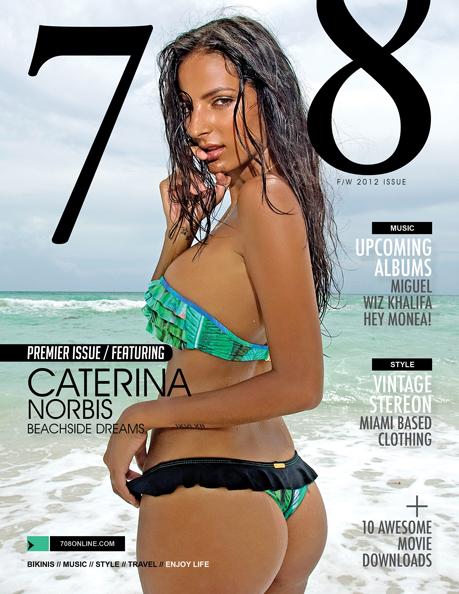 Caterina Norbis 708 Magazine Cover