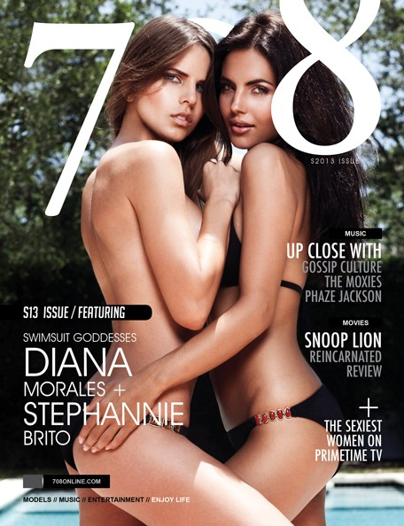 Diana Morales & Stephannie Brito 708 Magazine Cover